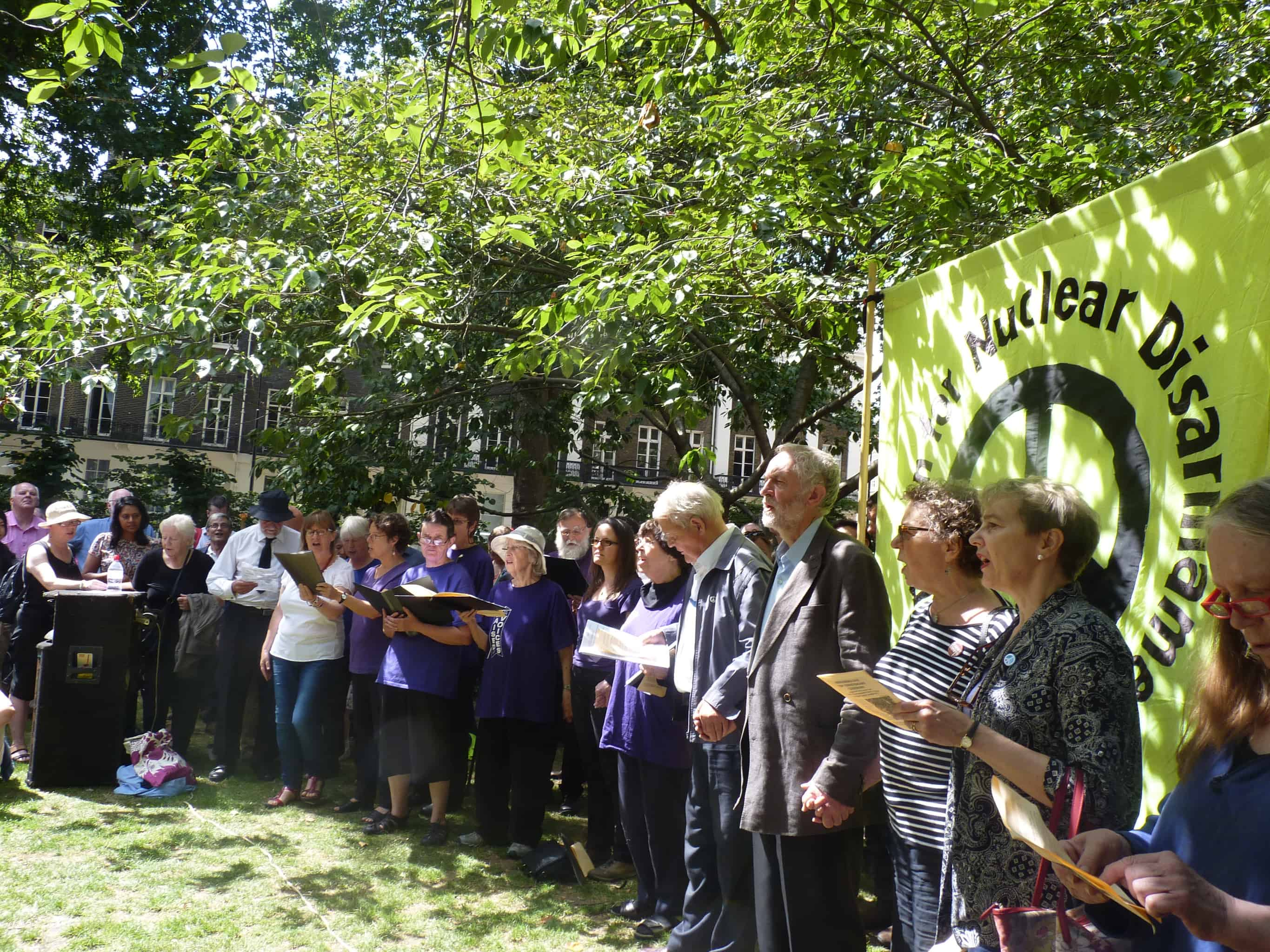 CND commemorates Hiroshima Day - Campaign for Nuclear Disarmament