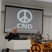 CND Conference 2021: No new nuclear arms race
