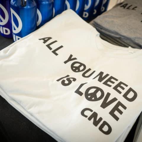 CND t-shirts