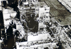 Reactor Fire at Chernobyl