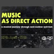 Music as direct action: London CND & Youth and Student CND online event