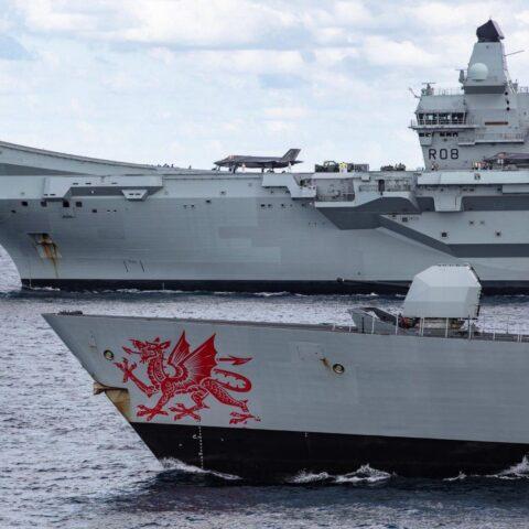 HMS Queen Elizabeth carrier