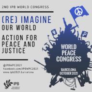 International Peace Bureau conference: (Re) imagine our world