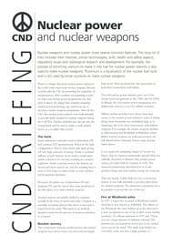 paragraph on nuclear weapons