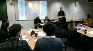 Teacher training session at UCL IoE