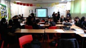 Workshop at Deptford Green School