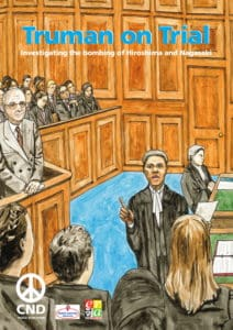 Front cover of our Truman On Trial teaching pack