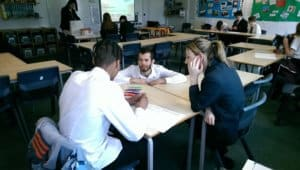 Workshop at King Ethelbert School