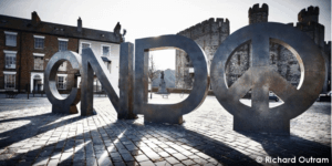 CND symbol by Richard Outram