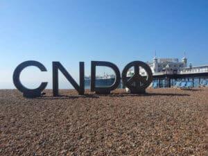 CND symbol tour