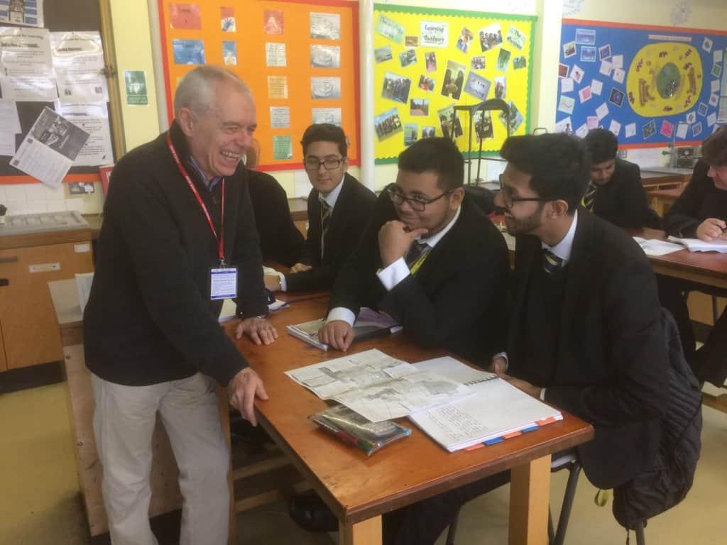 Workshop at Seven Kings School