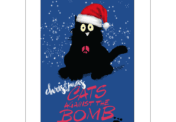 Cats Against the Bomb Christmas card by CND