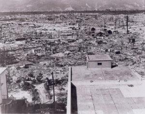 Devastation in Hiroshima