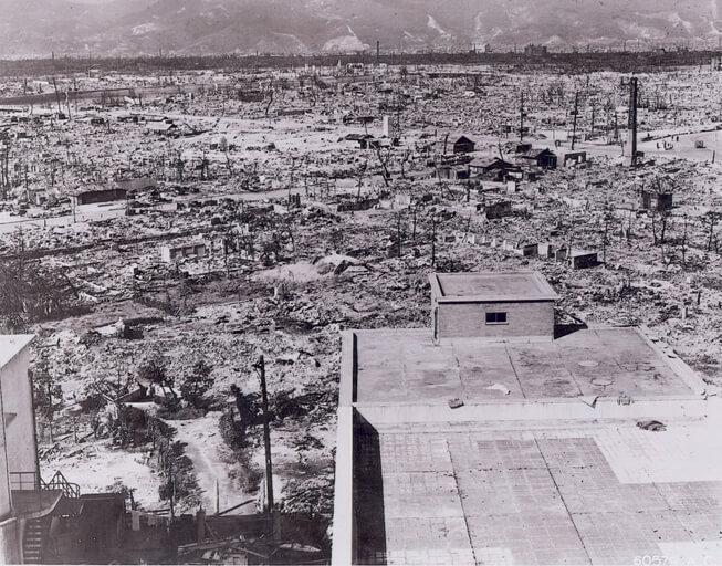 Devastation at Hiroshima